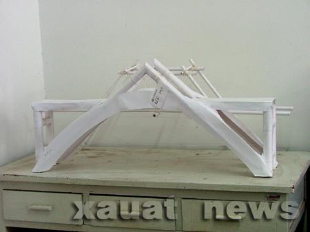 结构设计大赛; 桥梁构造图;