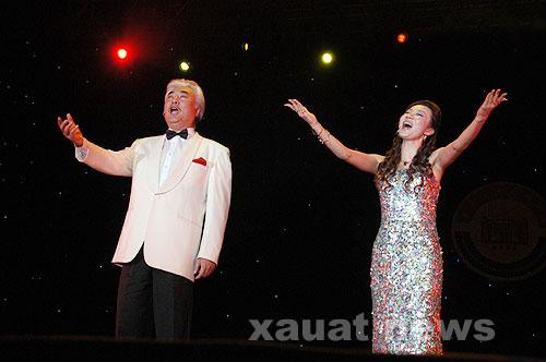 关于中国东方歌舞团今晚的演出